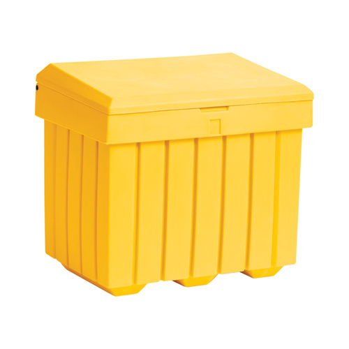 Yellow Salt Bin
