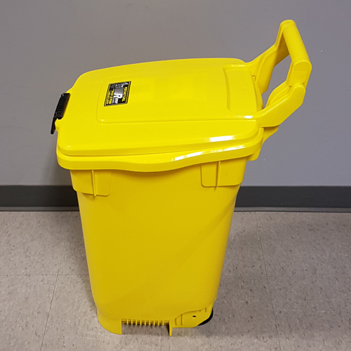 Salt Bin - Tall - Yellow